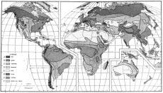 World climate map black and white more information a map showing climates around world climate map black and white gumiabroncs Gallery