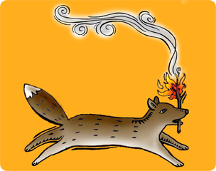How Coyote Stole Fire